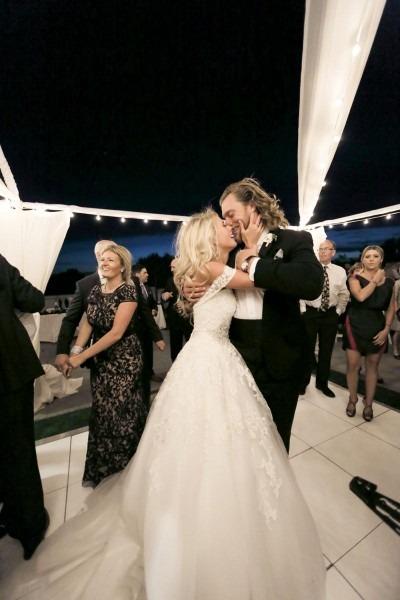 Elegant Pink & White Salt Lake City Wedding