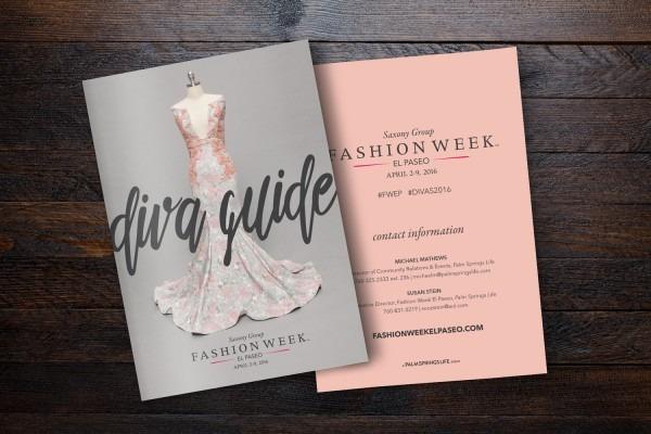 Fashion Week Invitation Cards
