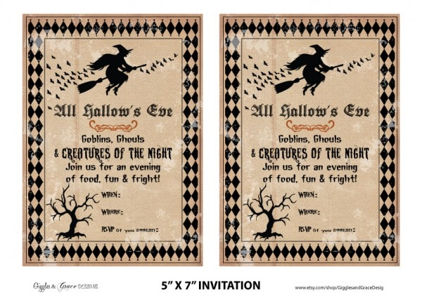 Free Halloween Party Invitations Is To Sum Up Your Outstanding