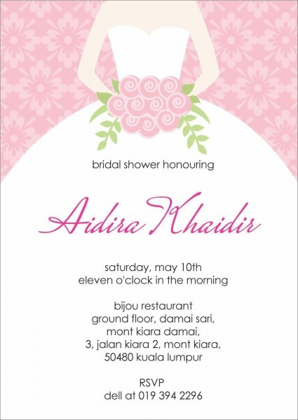 Free Printable Bridal Shower Invitations Templates Fresh Bridal