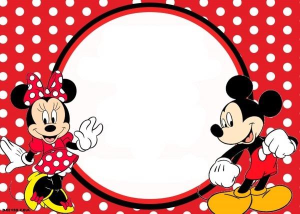 Free Printable Mickey And Minnie Birthday Invitations Beautiful
