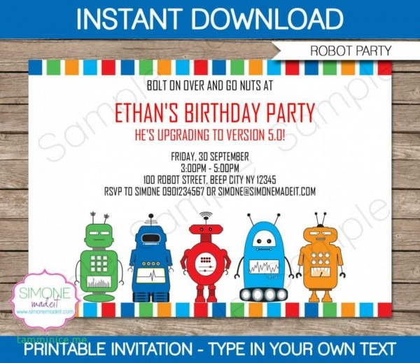 Free Printable Science Birthday Party Invitations Unique Science