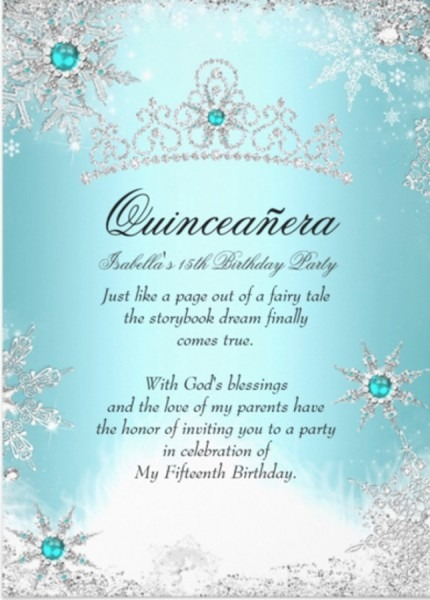 Free Quinceanera Invitation Templates New With Free Quinceanera