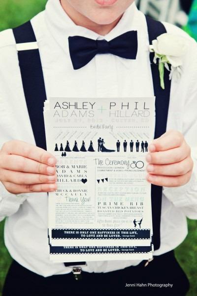 Fun And Creative Wedding Invitations   Black Hills Bride