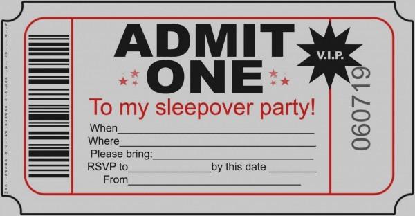 Great Of Slumber Party Invitations Free Printable Invitation Ideas