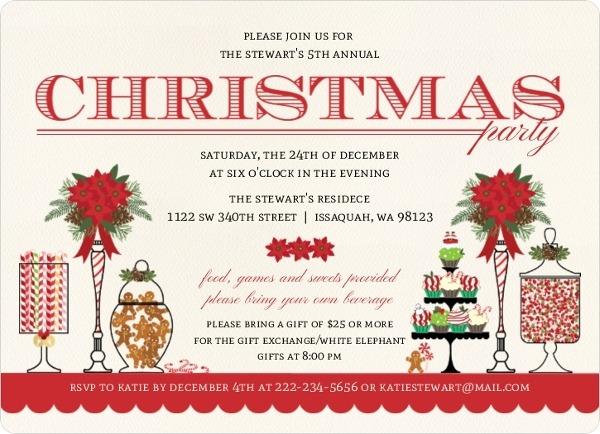 Christmas Gathering Invitation
