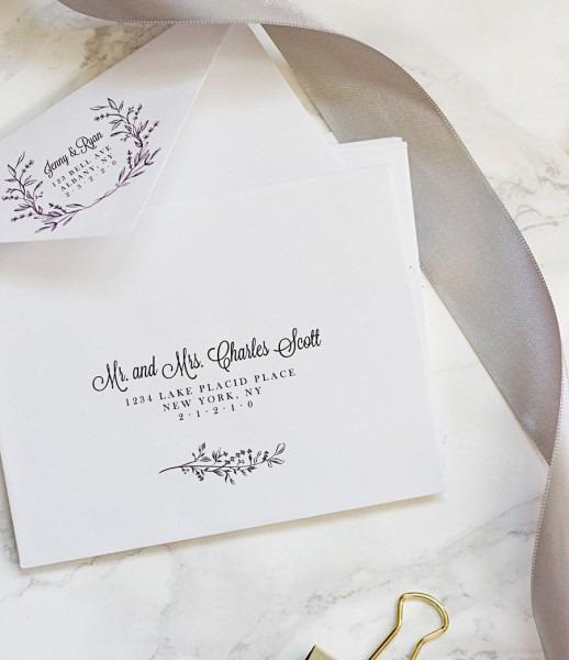 How To Print On Envelopes Fancy Wedding Invitation Envelope