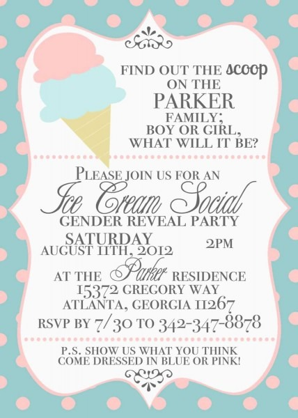 Ice Cream Party Invitation Wording Invitation Reference Of Ice