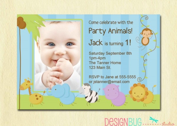 Il Fullxfull Twh Fancy Invitation For One Year Old Birthday Party