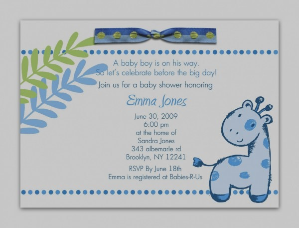 Images Sample Baby Shower Invitation Wording Free Printable Owl