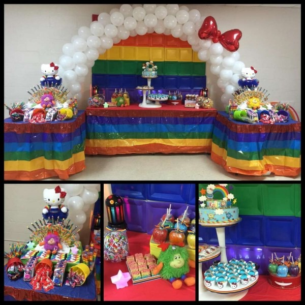 Rainbow Brite Hello Kitty Birthday Party Ideas