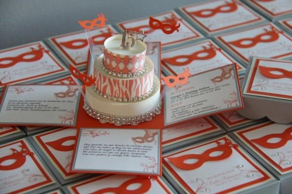 Jinky's Crafts & Designs  Handmade Masquerade Quinceanera