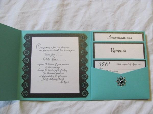Tiffany Inspired Wedding Invitations (part 1)