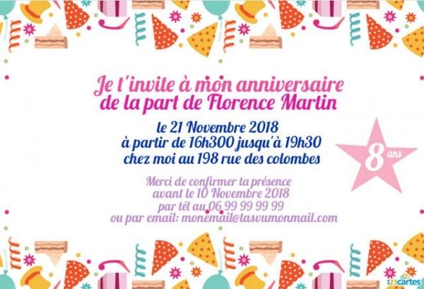 Incredible Invitation A Une Fete En Anglais 9 Inspirational