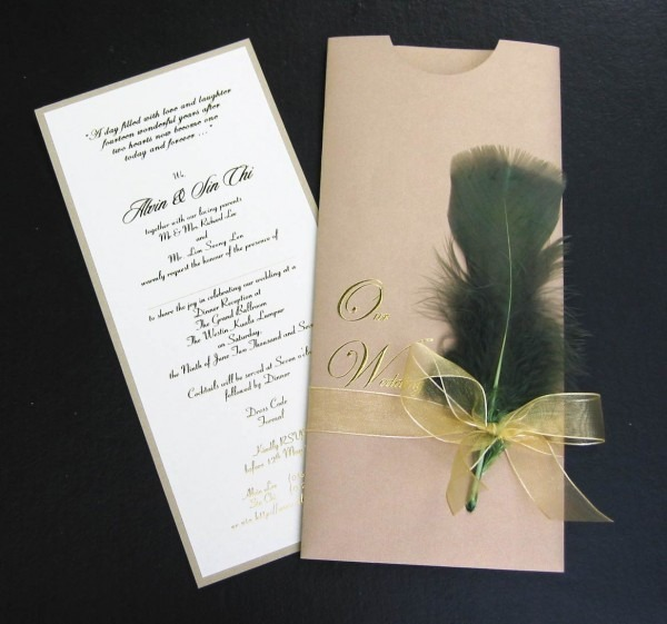 Wedding Invitation Innovative Ideas