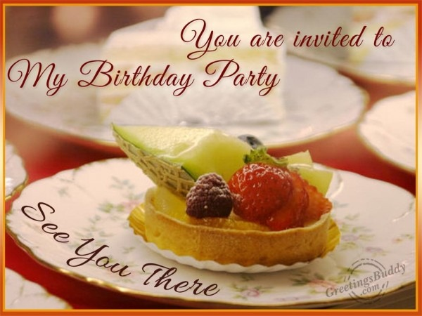 Invitation Card Luxury You Are Invited To My Birthday Party