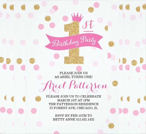 Invitation For Birthday Party Sample Cute With Invitation For