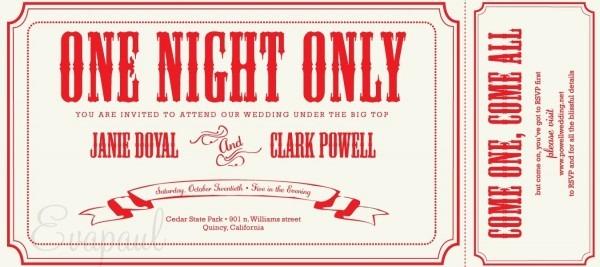 Invitation Ideas  Free Printable Ticket Invitation Templates