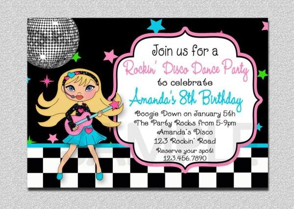 Karaoke Birthday Party Invitations Marvelous Free Printable
