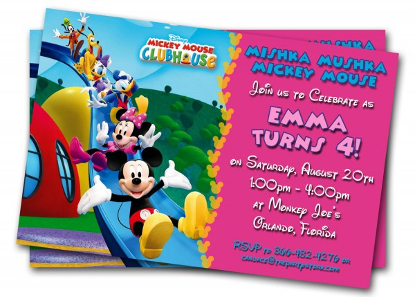 Kids Birthday Invitation With Some Bday Cards For Fabulous Cheap