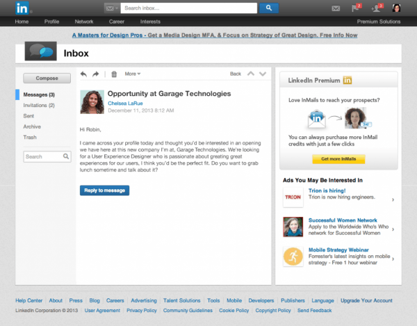 Your Linkedin Inbox Just Got A New And Improved Look