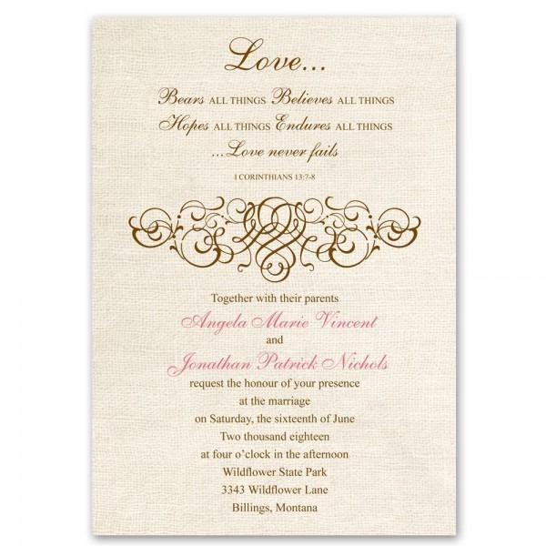 Lovely Christian Wedding Invitations 48 On Free Printable