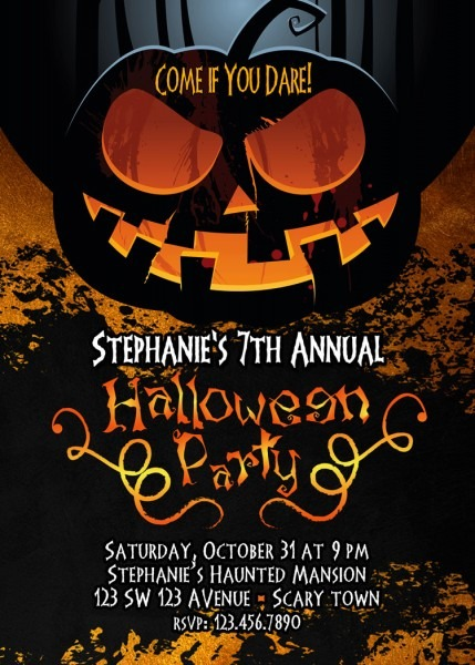 Luxury Halloween Invites 59 For Free Printable Invitations