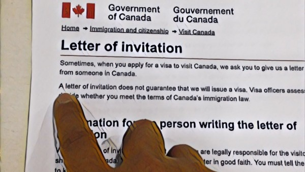 Canada Invitation Letter From Sponsor ( Sponsorship Invitation For