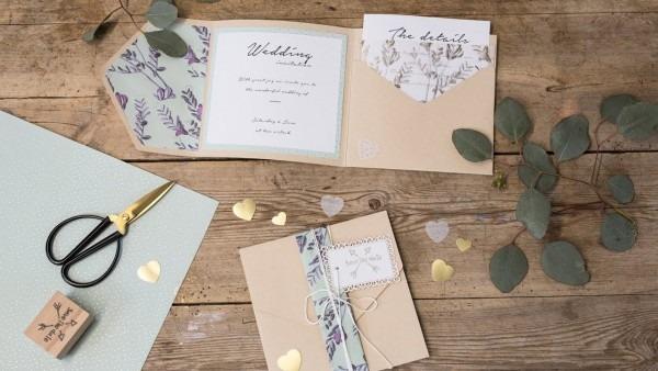 Diy   Homemade Wedding Invitations By Søstrene Grene