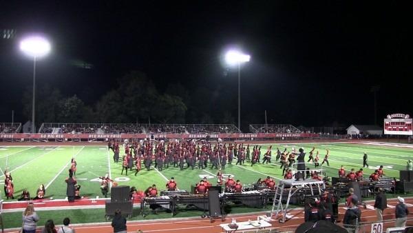 Goshen Marching Band September 9, 2017 Performance