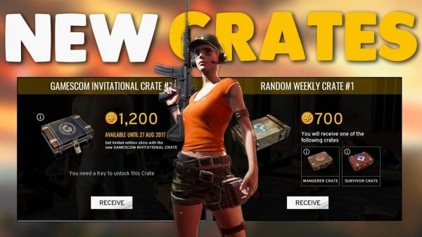 Pubg Gamescom Crate Opening