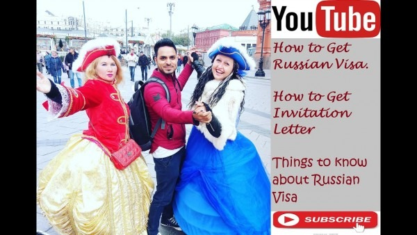 How To Get Russian Visa And Invitation Letter !! Russian Visa Fees