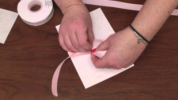 How To Assemble Wedding Invitations With Ribbon