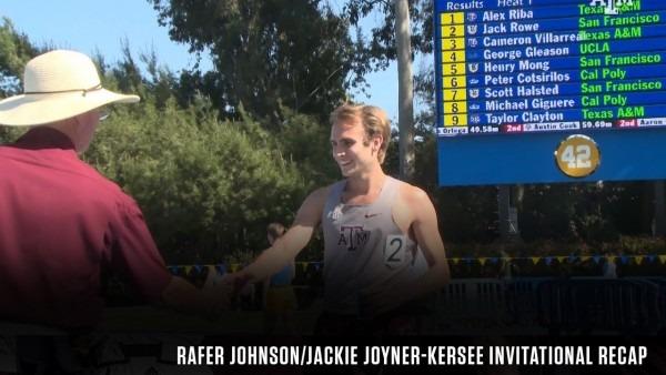 Track & Field  Rafer Johnson Jackie Joyner