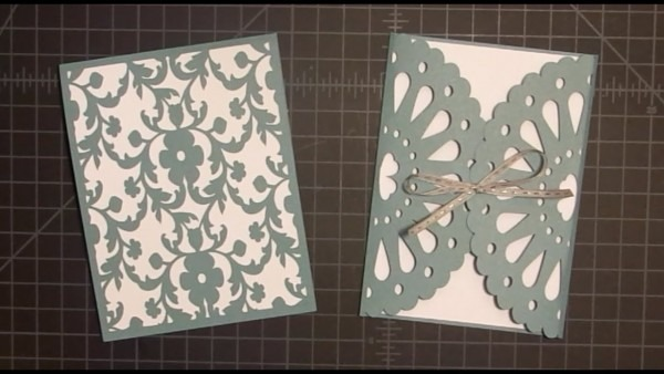 Frilly Doily Card With Cricut Explore Tutorial