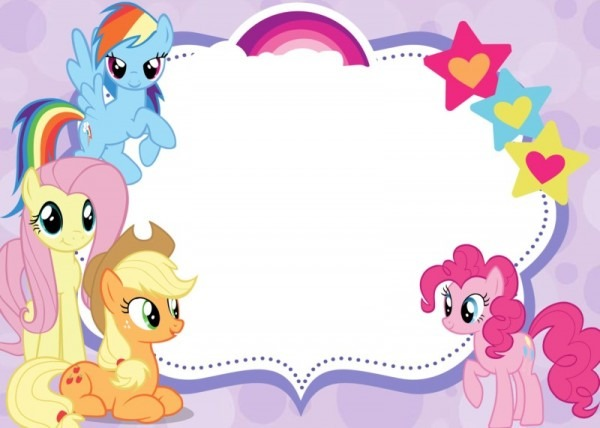 My Little Pony Party Invitations Also Have Surprising Party