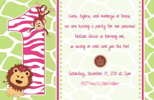 Project Of The Week  Baby's 1st Birthday Invite And Cupcake Stand