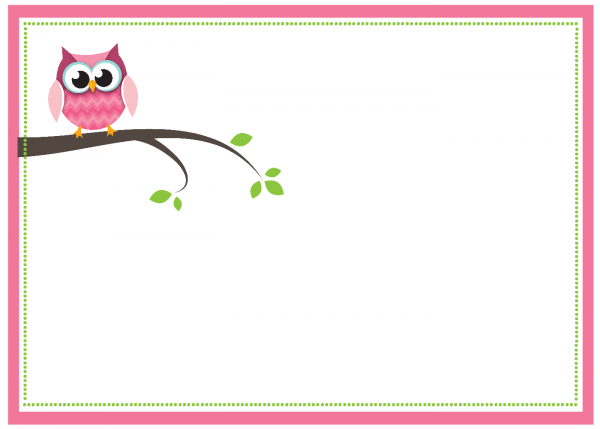 Free Printable Owl Baby Shower Invitations {& Other Printables}