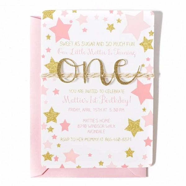 P L To Send X Fresh Twinkle Twinkle Little Star Invitation