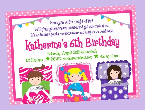 Pajama Party Invitation Pajama Party Invitation For Makes The
