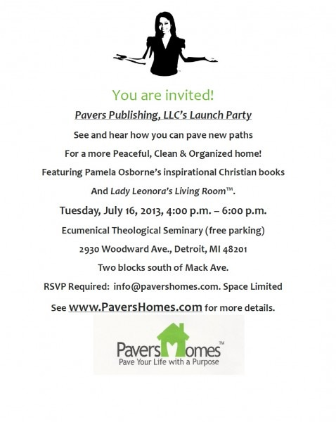 Pavers Epic Publishing Party Invitation Template