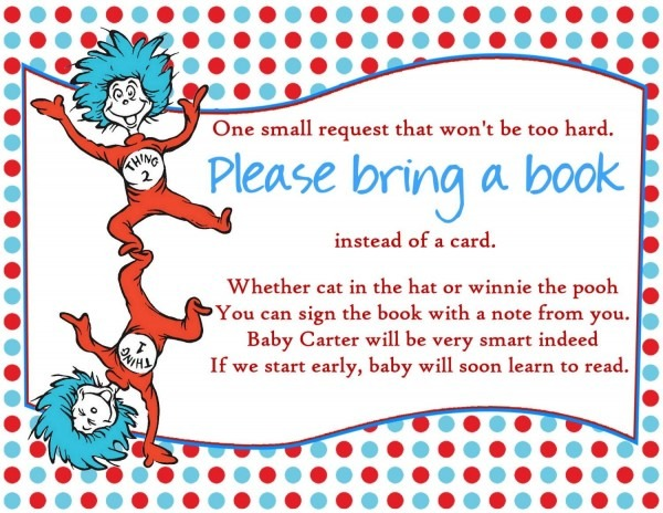 Perfect Dr Seuss Baby Shower Invitations Printable Free 73 On