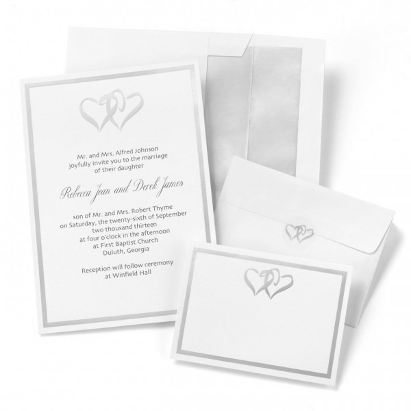 Print Your Own Wedding Invitations Kits