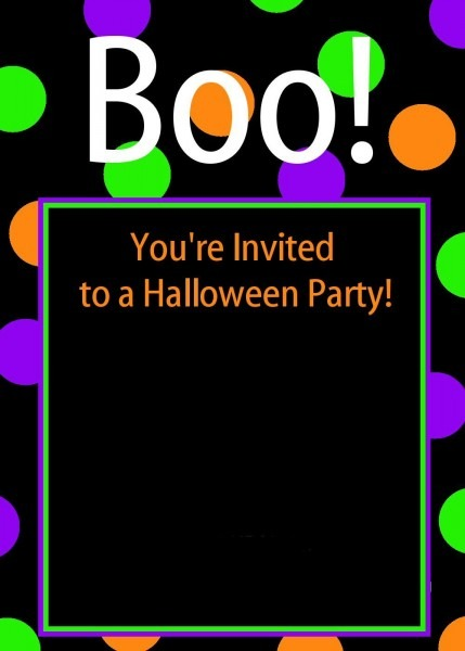 Printable Halloween Party Invitations For Kids Booinvitation