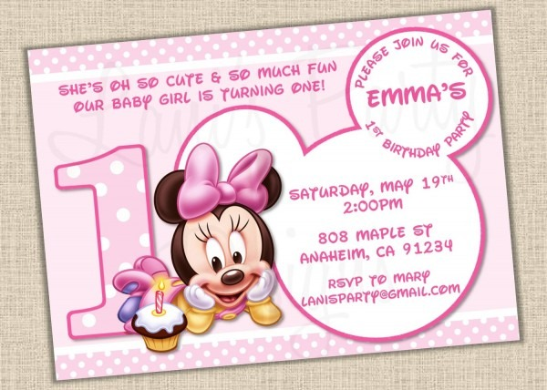Free Minnie Mouse Baby, Download Free Clip Art, Free Clip Art On