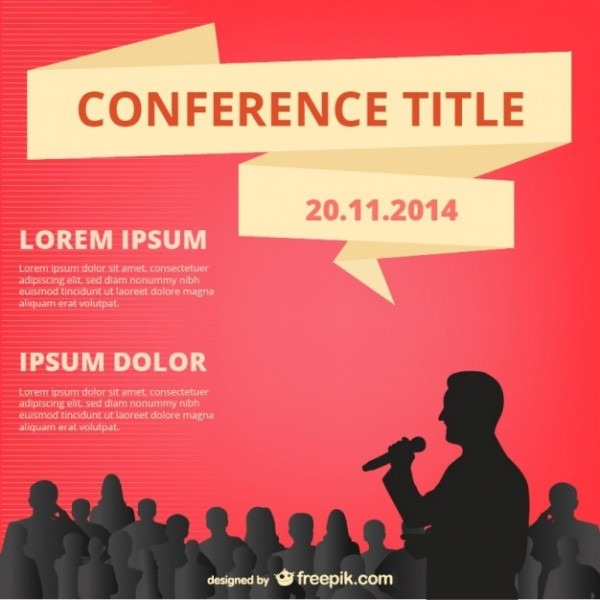 Free Conference Poster Template