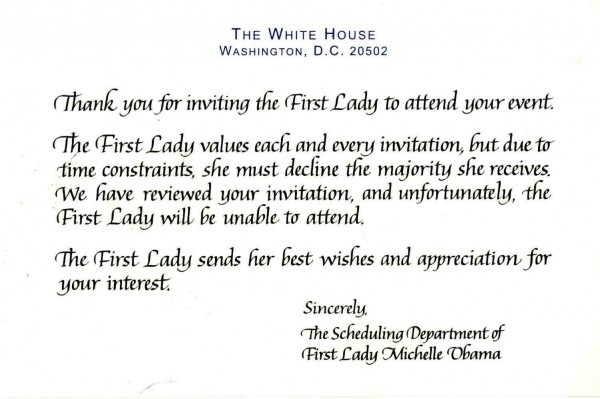 Invitation  How To Decline An Invitation To A Party