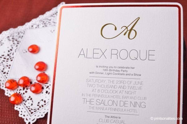Sample Invitation Wordings For Debut Image Collections, Sample