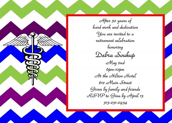 Sar Trend Retirement Party Invitation Wording Funny