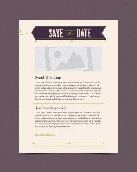 Invitation Email Marketing Templates